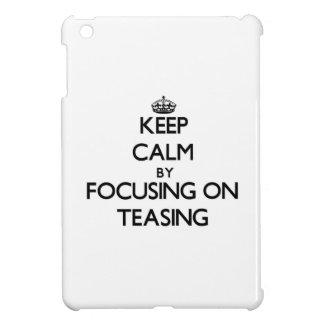 Keep Calm by focusing on Teasing iPad Mini Case