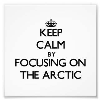 Keep Calm by focusing on The Arctic Photo Art