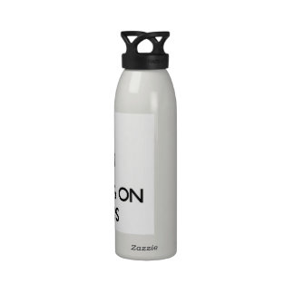 Keep Calm by focusing on Toxins Water Bottle
