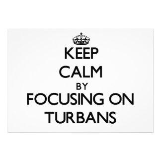 Keep Calm by focusing on Turbans Announcements