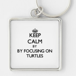 Keep calm by focusing on Turtles Keychains