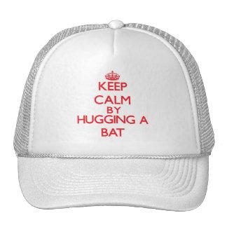 Keep calm by hugging a Bat Cap