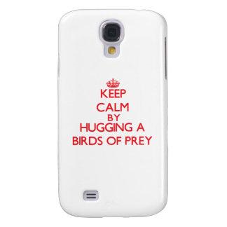 Keep calm by hugging a Birds Of Prey HTC Vivid Case