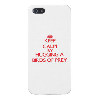 Keep calm by hugging a Birds Of Prey iPhone 5/5S Cover