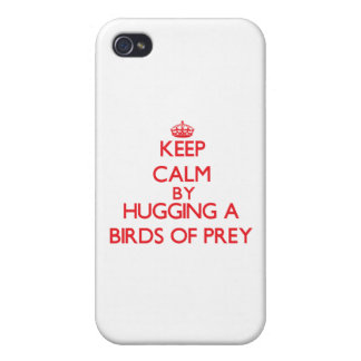 Keep calm by hugging a Birds Of Prey iPhone 4 Case