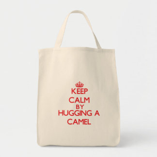 Keep calm by hugging a Camel Tote Bag