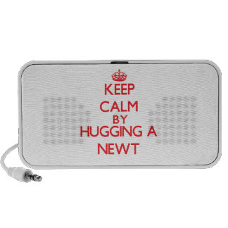 Keep calm by hugging a Newt Portable Speaker