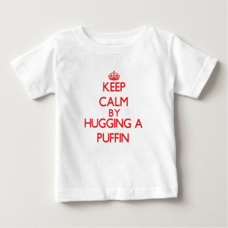 Keep calm by hugging a Puffin Baby T-Shirt
