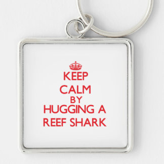 Keep calm by hugging a Reef Shark Key Chains