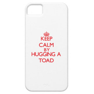 Keep calm by hugging a Toad iPhone 5 Case