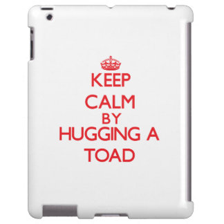 Keep calm by hugging a Toad