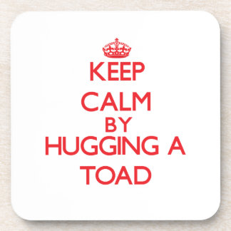 Keep calm by hugging a Toad Coasters