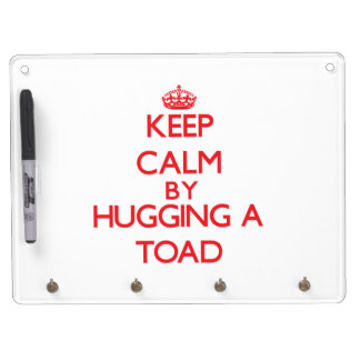 Keep calm by hugging a Toad Dry Erase Whiteboard