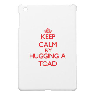 Keep calm by hugging a Toad Cover For The iPad Mini