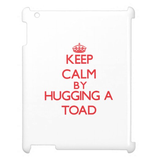 Keep calm by hugging a Toad iPad Case