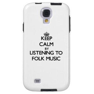 Keep calm by listening to FOLK MUSIC