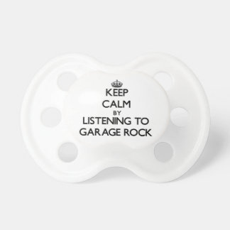 Keep calm by listening to GARAGE ROCK Baby Pacifiers