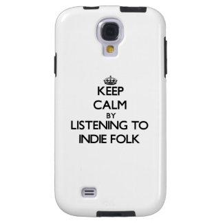Keep calm by listening to INDIE FOLK