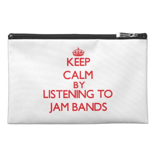 Keep calm by listening to JAM BANDS Travel Accessories Bag