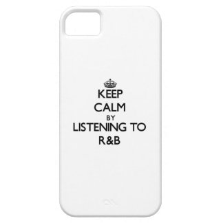 Keep calm by listening to R B iPhone 5 Covers
