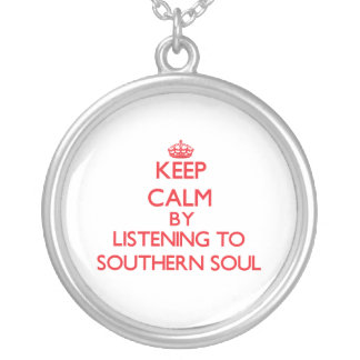 Keep calm by listening to SOUTHERN SOUL Pendant