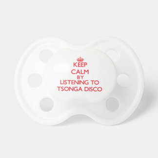 Keep calm by listening to TSONGA DISCO Pacifiers