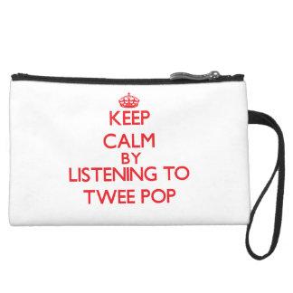 Keep calm by listening to TWEE POP Wristlets