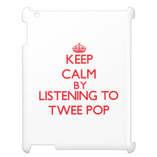 Keep calm by listening to TWEE POP Cover For The iPad