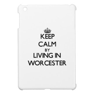Keep Calm by Living in Worcester Cover For The iPad Mini