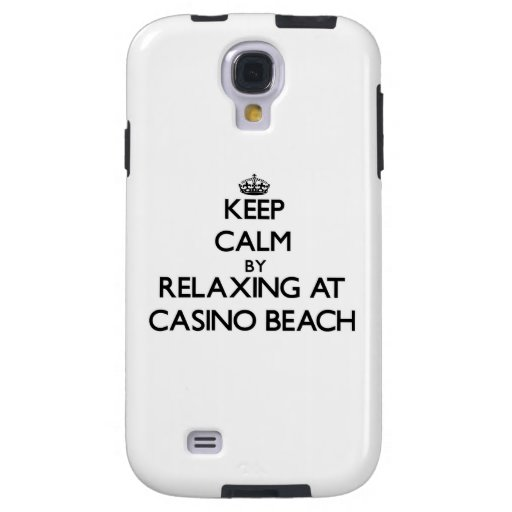 Keep calm by relaxing at Casino Beach Florida Galaxy S4 Case