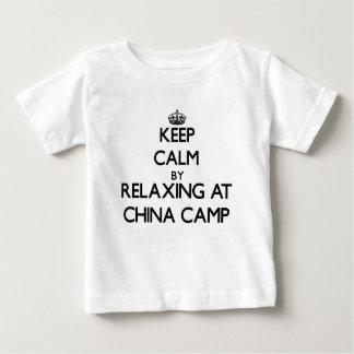 Keep calm by relaxing at China Camp California Shirt