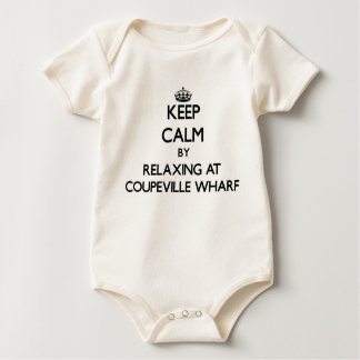 Keep calm by relaxing at Coupeville Wharf Washingt Creeper