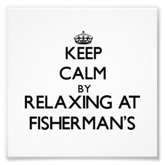 Keep calm by relaxing at Fisherman'S Massachusetts Art Photo