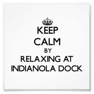 Keep calm by relaxing at Indianola Dock Washington Photo