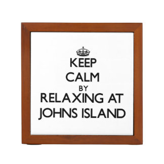 Keep calm by relaxing at Johns Island Washington Pencil Holder