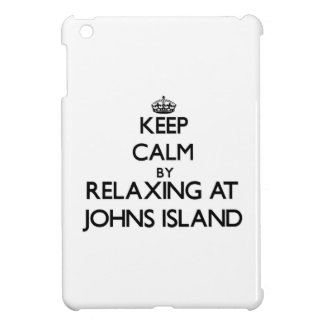 Keep calm by relaxing at Johns Island Washington Cover For The iPad Mini