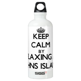 Keep calm by relaxing at Johns Island Washington SIGG Traveller 0.6L Water Bottle
