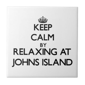 Keep calm by relaxing at Johns Island Washington Ceramic Tiles