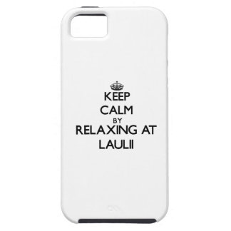 Keep calm by relaxing at Laulii Samoa iPhone 5 Cases
