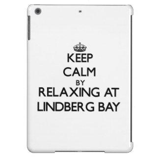 Keep calm by relaxing at Lindberg Bay Virgin Islan iPad Air Cases
