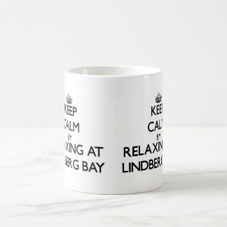 Keep calm by relaxing at Lindberg Bay Virgin Islan Mugs