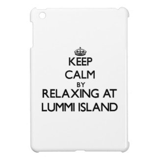 Keep calm by relaxing at Lummi Island Washington iPad Mini Covers