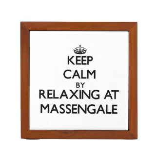 Keep calm by relaxing at Massengale Georgia Pencil Holder
