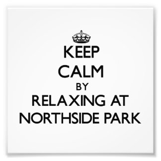 Keep calm by relaxing at Northside Park New Hampsh Art Photo