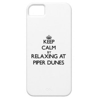 Keep calm by relaxing at Piper Dunes Florida iPhone 5 Covers
