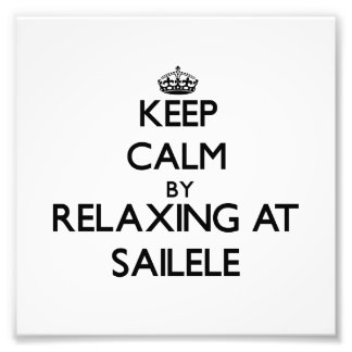 Keep calm by relaxing at Sailele Samoa Photo