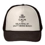 Keep calm by relaxing at Salty Brine Beach Rhode I
