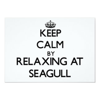 Keep calm by relaxing at Seagull Massachusetts Announcements