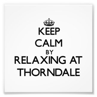 Keep calm by relaxing at Thorndale Illinois Photo