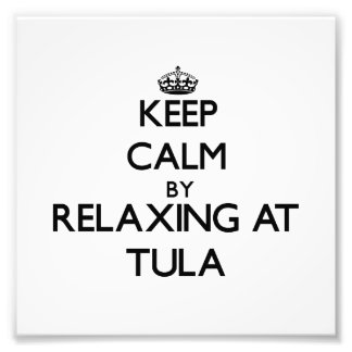 Keep calm by relaxing at Tula Samoa Photograph